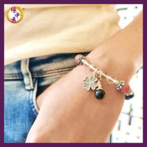 Yuan Zhong Siu - Divine Eagle Rhodonite Bracelet 1