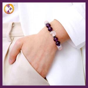 Yuan Zhong Siu - Victory Phoenix Amethyst Bracelet