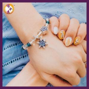 Yuan Zhong Siu - Rigel Snowflake Bracelet 5