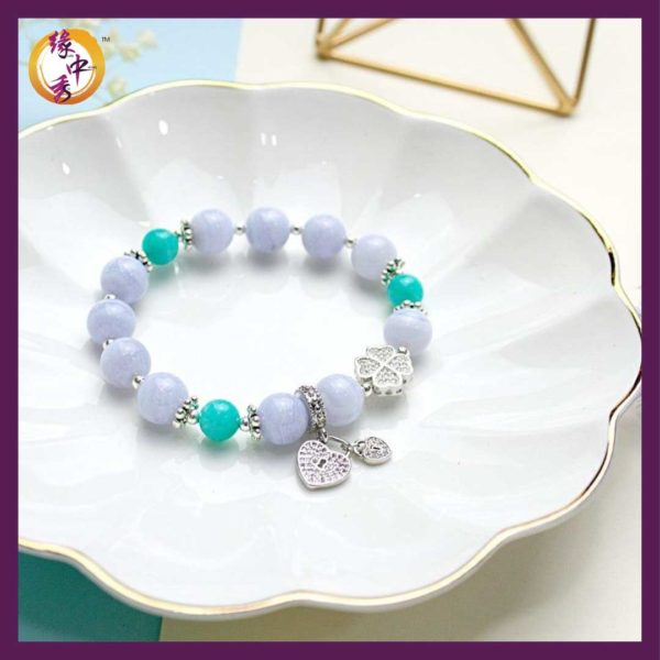 Celeste Blue Brilliance Bracelet
