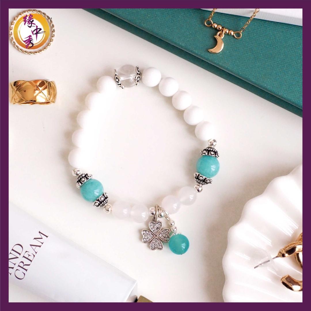 1. Courage Amazonite Eagle Bracelet - Yuan Zhong Siu