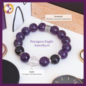 2. (ENG) Paragon Eagle Amethyst Bracelet - Yuan Zhong Siu