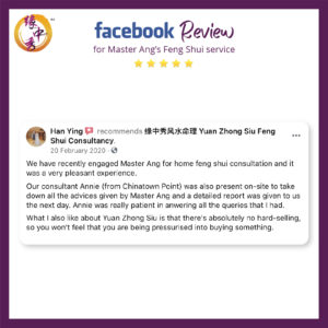 Review Feng Shui Audit by Master Ang 1