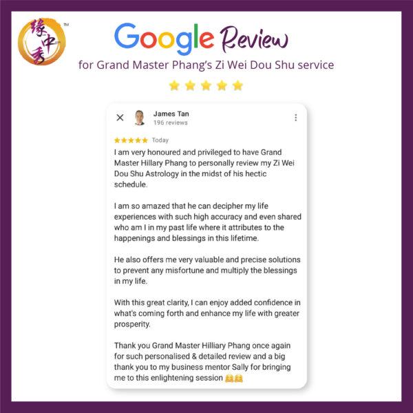 Review Zi Wei Dou Shu Astrology Service by Grand Master Phang 3