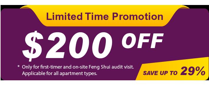 Master Ang On-Site Feng Shui Audit Promotion