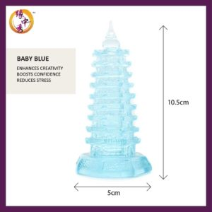 Wen Chang Pagoda (Yuan Zhong Siu) Blue