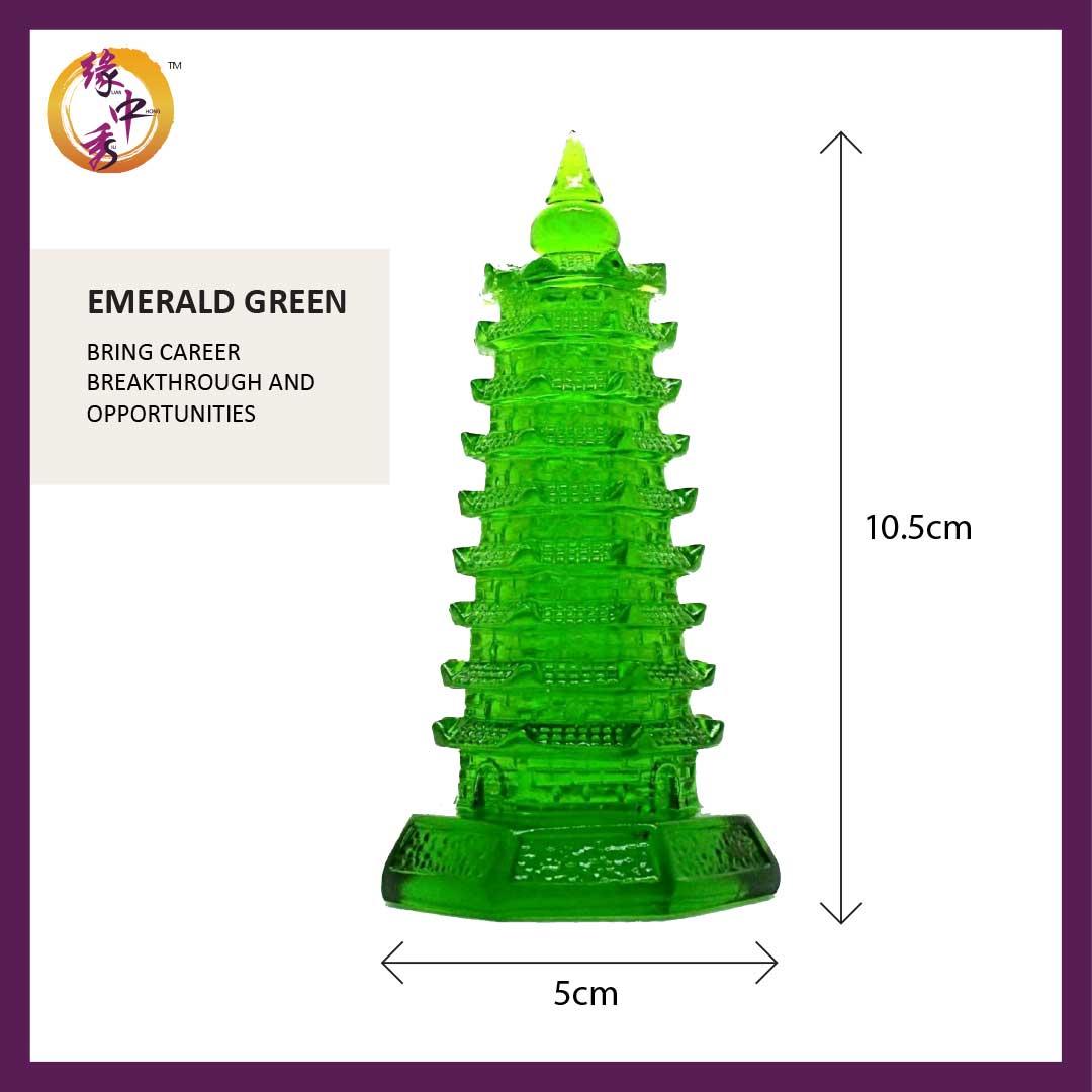 Wen Chang Pagoda (Yuan Zhong Siu) Green