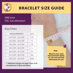 Yuan Zhong Siu Bracelet Size Guide
