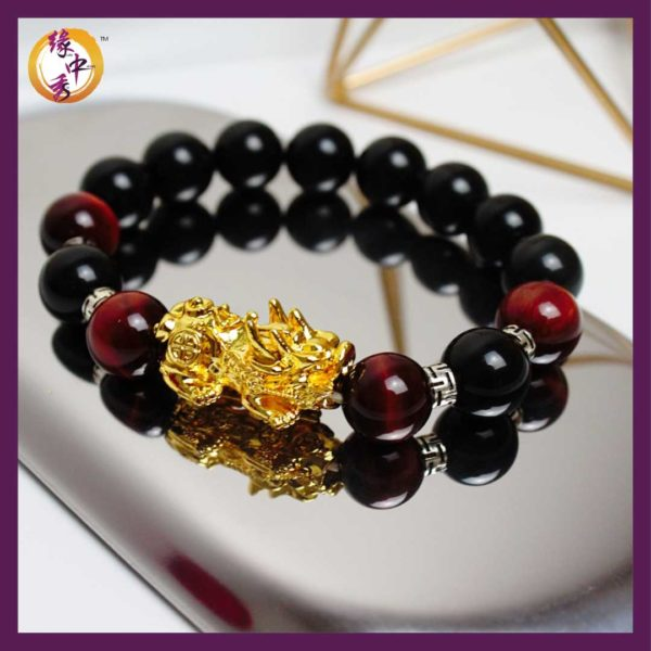 Stellar Gold Pi Xiu Bracelet 王者霸业金貔貅手链