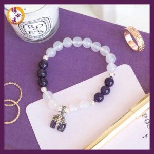 Yuan Zhong Siu - Purple Harmony Elephant Bracelet 1